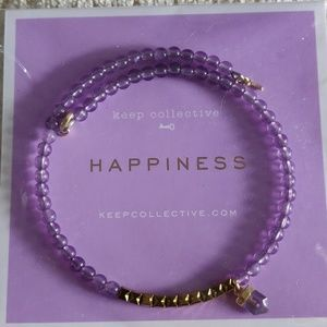 Keep Collective Happiness Inspo Bracelet